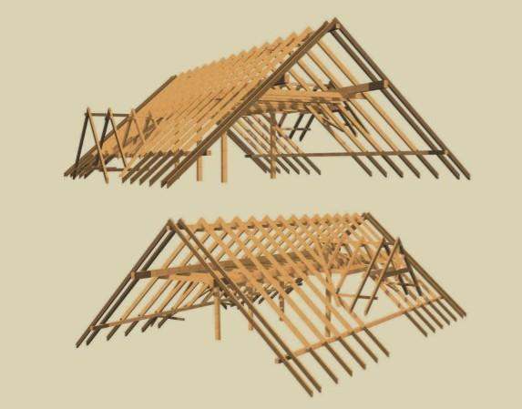 Fotos terrazas y pergolas techos de madera para terraza - Estructuras de madera para techos ...