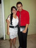 Missionário Clayton e sua Esposa Fabiana.