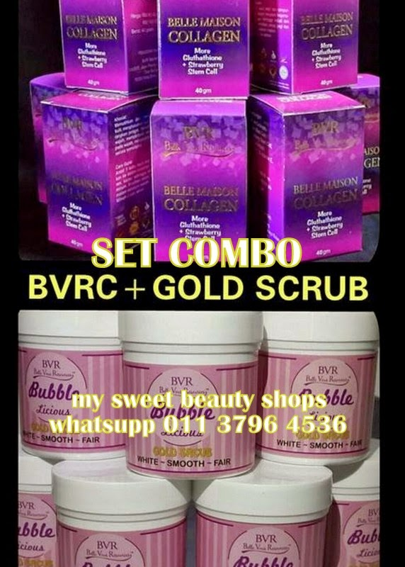 SET COMBO BVR + GOLD SCRUB