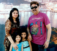 Kumar Sanu with Wife Saloni