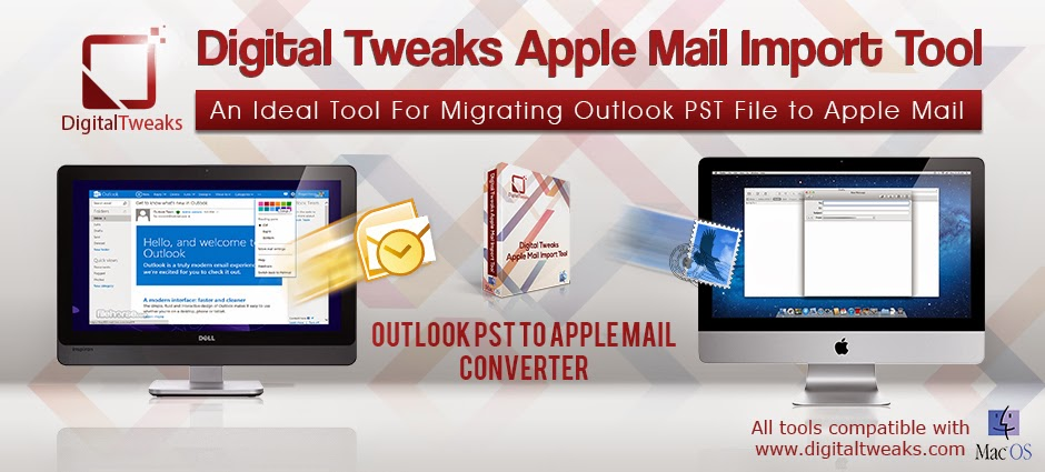 convert PST file to Apple Mail