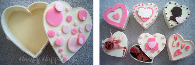 Heart Shaped Chocolate Box Design Valentine S Day Desserts Hungry