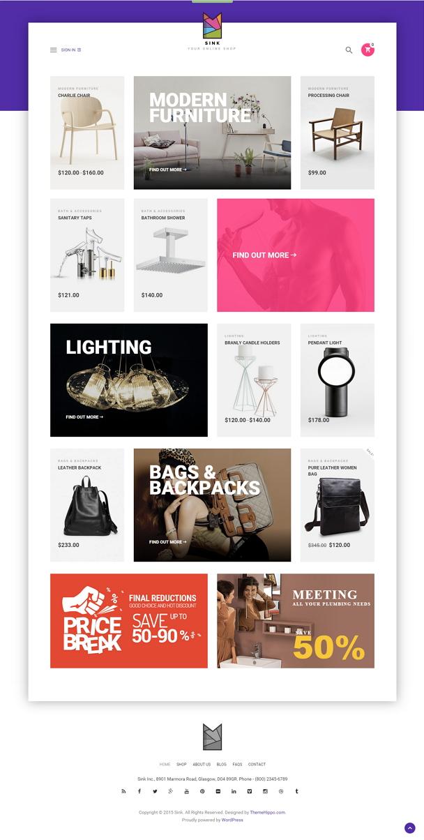 Best Minimal WooCommerce WordPress Theme