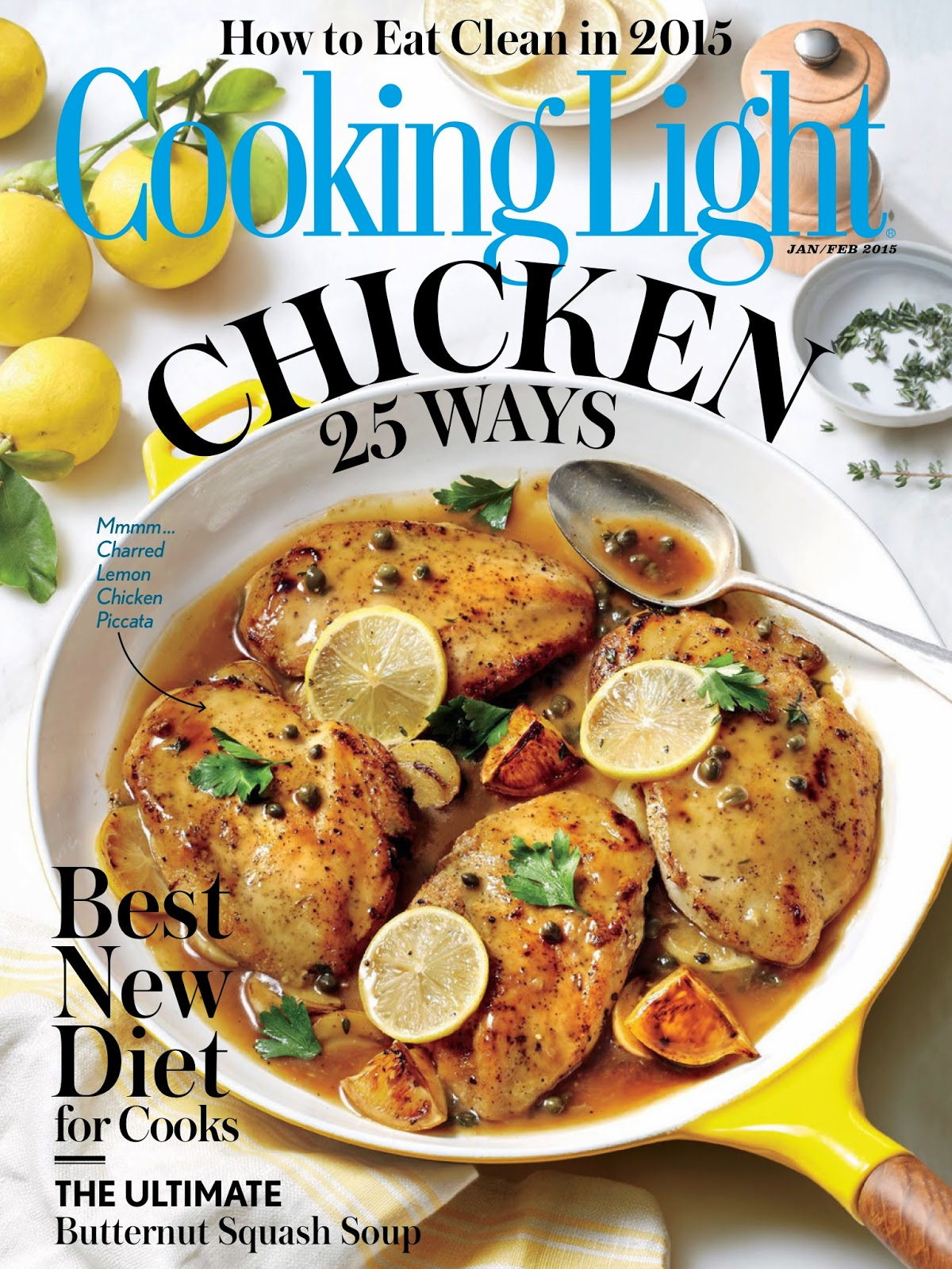 Cooking Light January 2015