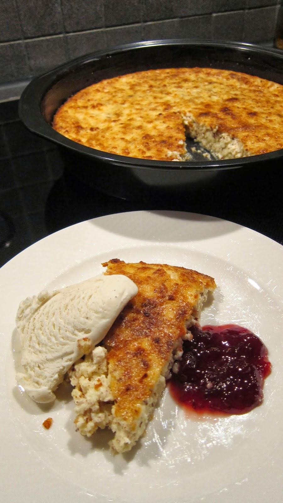 småländsk ostkaka keso