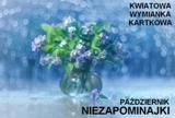Kartkowa wymianka kwiatowa - niezapominajki