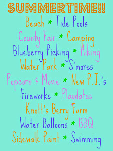 Summer To-Do List!