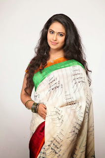 Avika Guar Latest Unseen Beautiful Pics in Sal Kameez and Saree