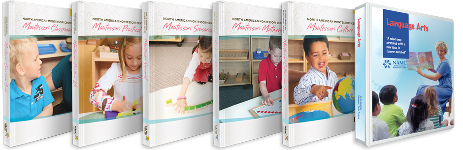 NAMC Early childhood montessori manuals