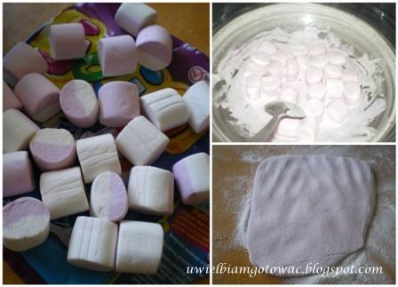 Tort na wieczór panieńsko-kawalerski i masa z pianek marshmallows