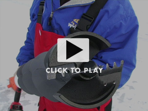 Ice Auger Drill Attachment5