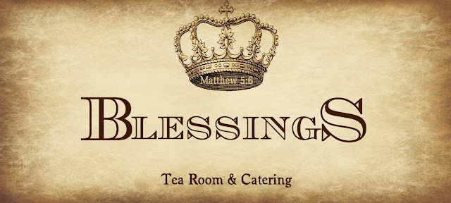 Header for Seymour Blessings Tea Room