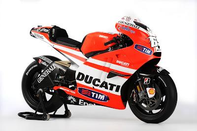 2011 Ducati Desmosedici GP11 Pictures