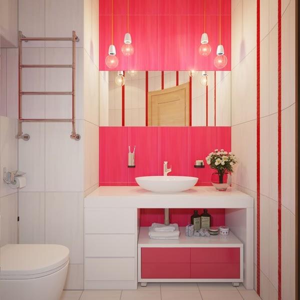 Dream House: Pink Bathroom Design Beautiful Latest on pretty pink bathrooms, cool pink bathrooms, nice pink bathrooms,