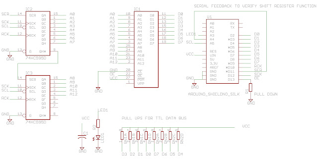 reading the prophet 600 u0026 39 s firmware with an arduino eprom