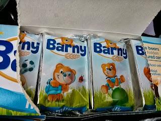 Barny sponge snack