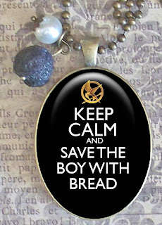 Hunger Games jewelry: Peeta, crafts, boy with bread