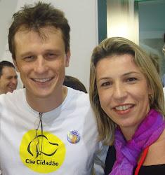 Alexandre Rossi e Dra. Jackline Pinto