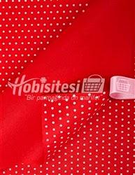 kırmızı keçe kumaş