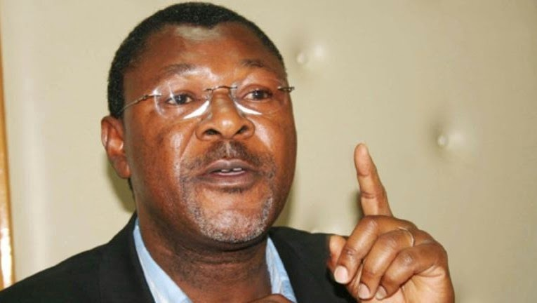 Wetang'ula is admitted after collapsing on Jambo Jet flight
