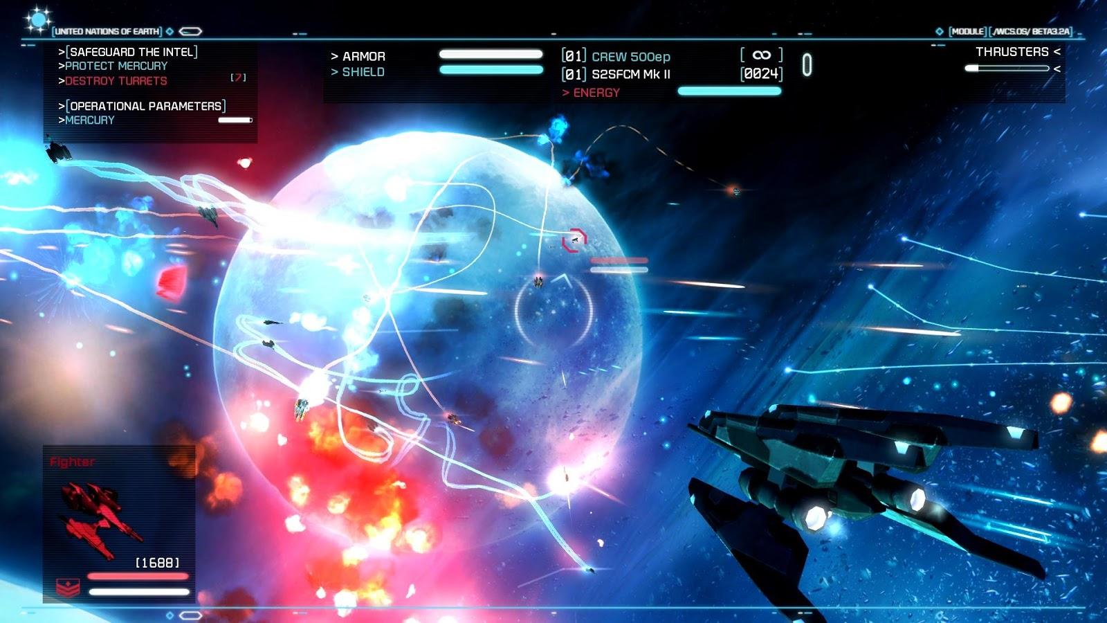 Strike Suit Zero - PC UPDATE 1 [FREE DOWNLOAD]