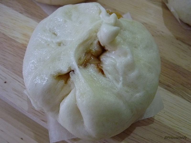 Chicken Pau/Chinese Steamed Bun Recipe with Chicken Filling (step by ...