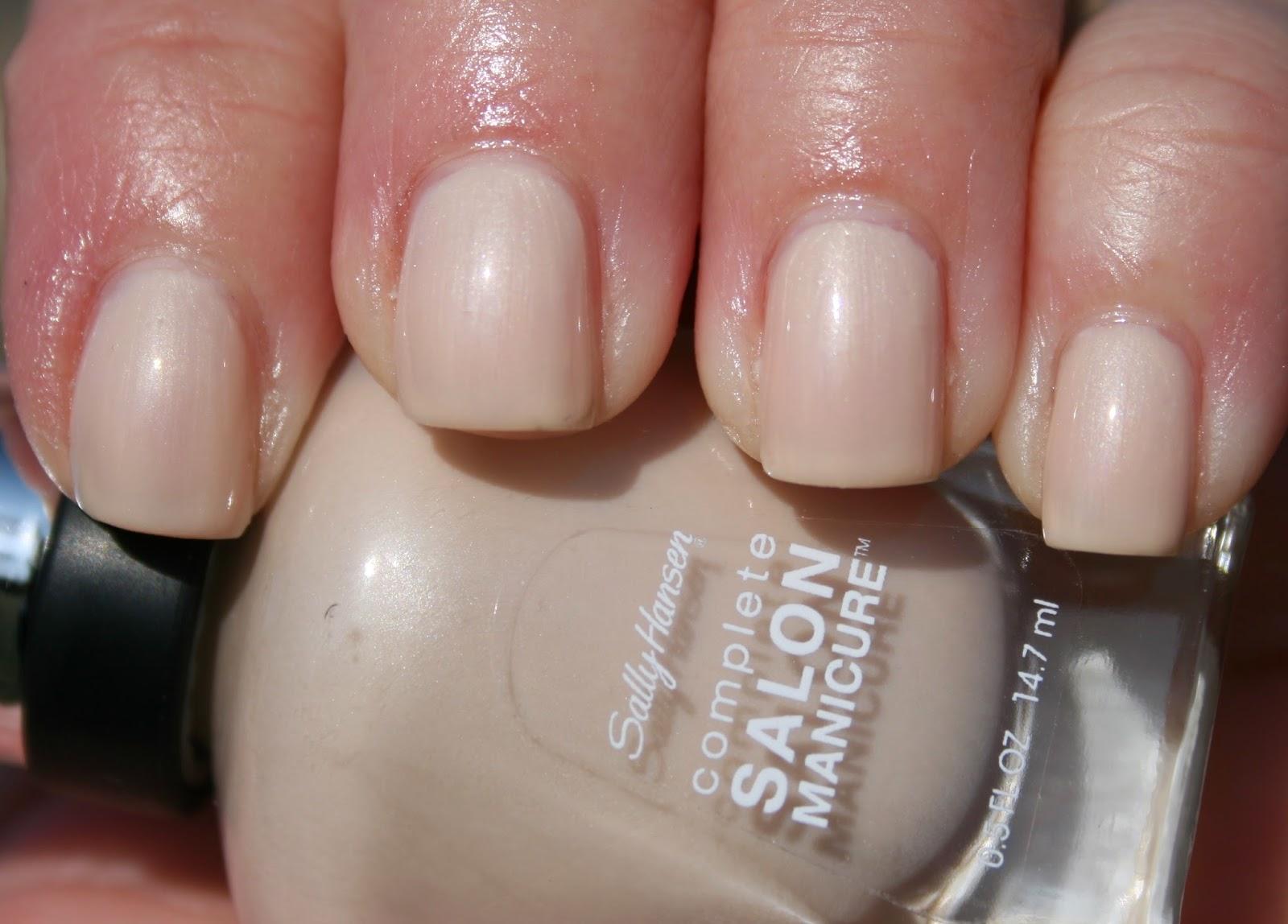 Sasha says nails i 39 m a manicure momma sally hansen for Salon manicure