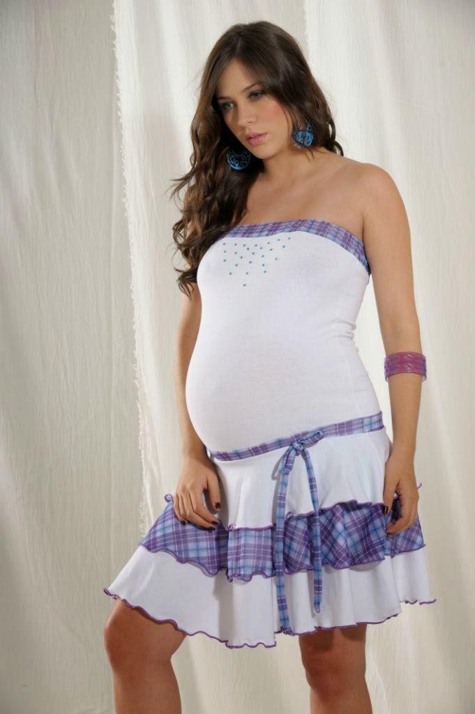 VESTIDO PARA EMBARAZADAS - MODA MATERNA - ROPA CASUAL PARA EMBARAZADAS via http://bebeyembarazos.blogspot.com/2014/04/vestido-para-embarazadas-moda-materna.html