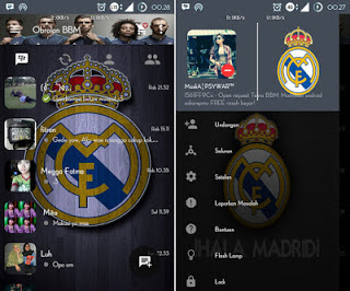 app earlier you lot download a modern you lot should know outset what is BBM modern Download BBM Mod Themes Real Madrid v2.10.0.35