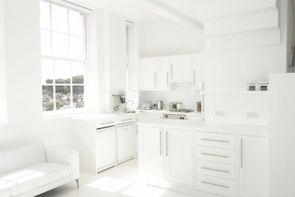 Forum una casa tutta bianca - Cucina tutta bianca ...