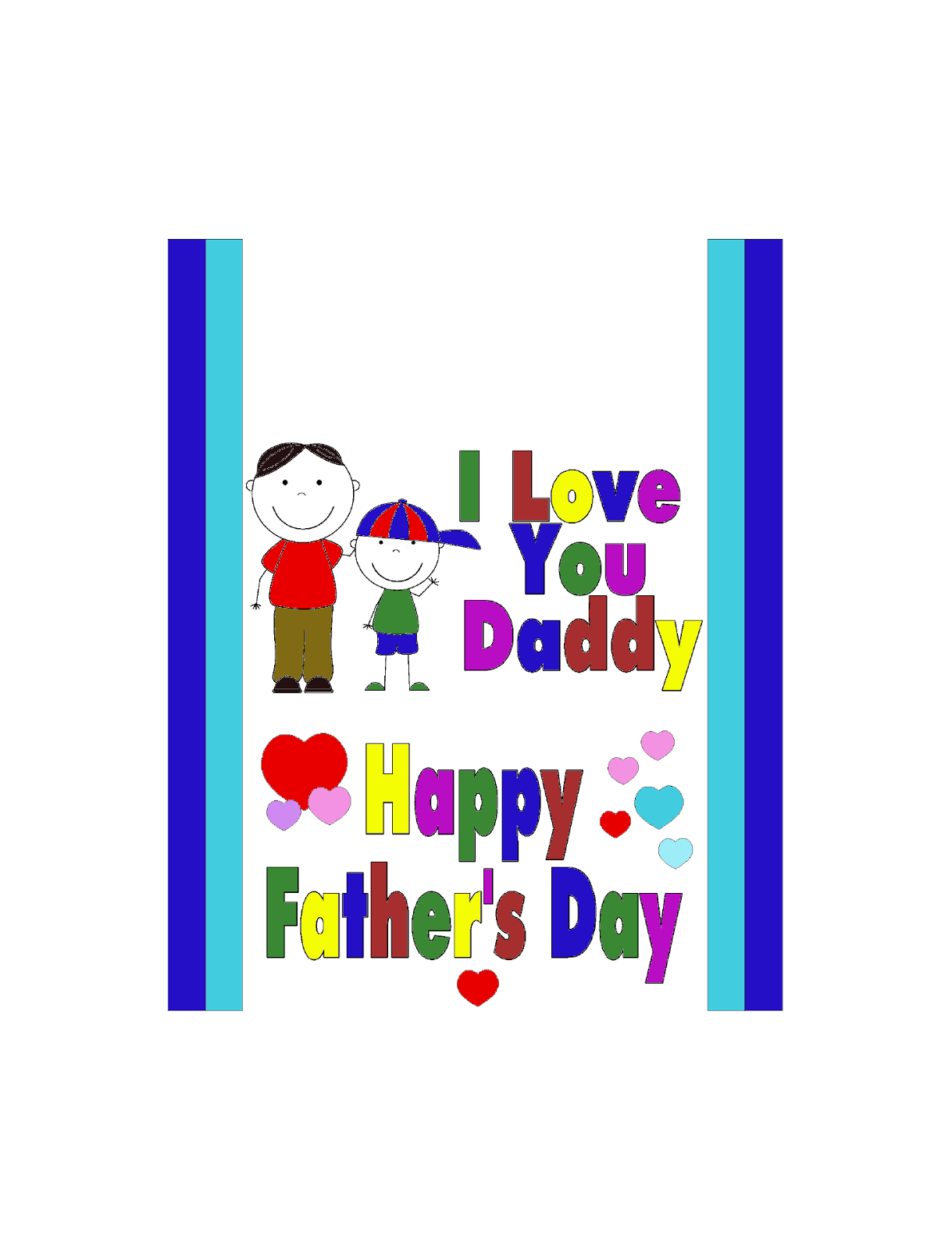 fathers day color me candy bar wrapper card everyday parties