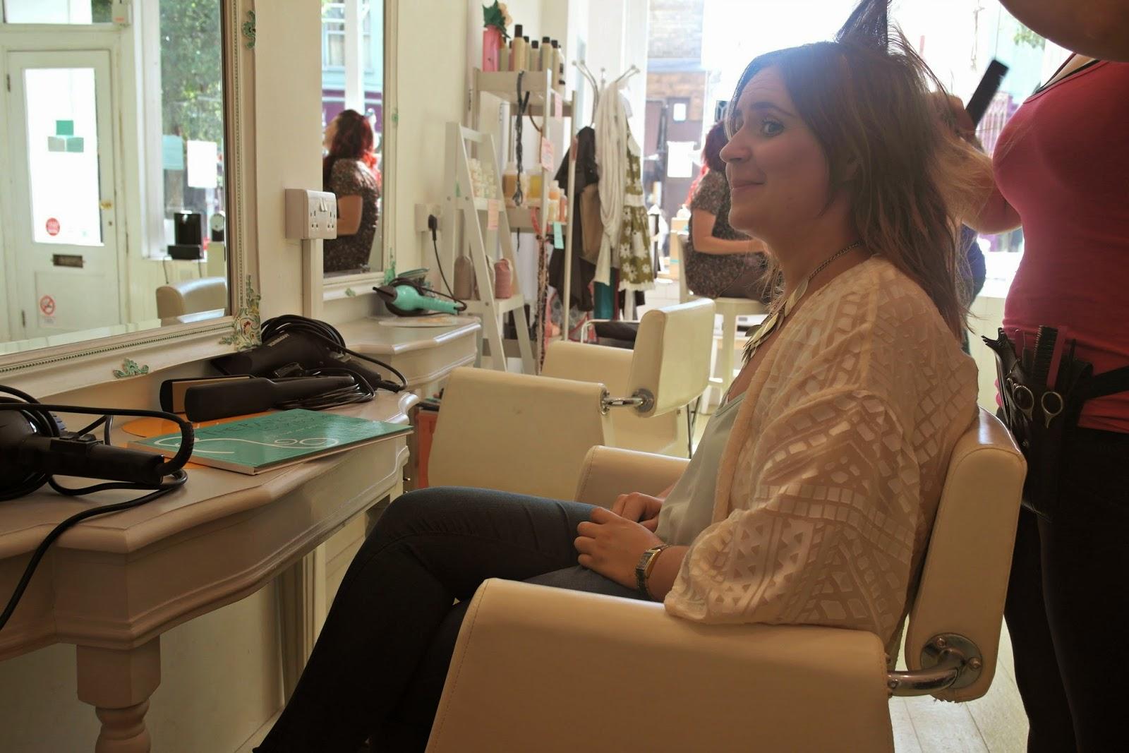 London blowdry salon review