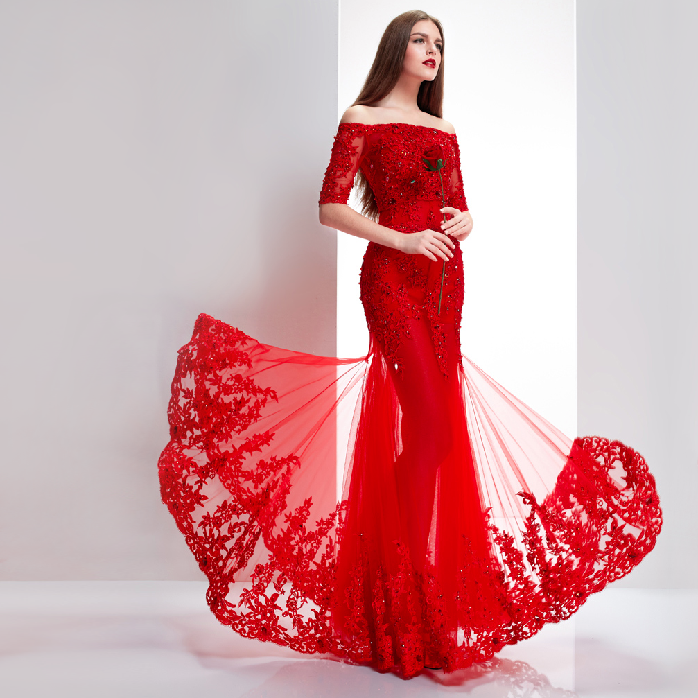 Red Dress Wedding Outfit : View the great dress dir below about fascinating red wedding dresses