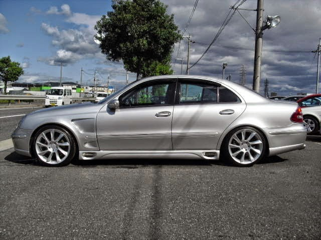 Mercedes benz w211 e240 lorinser style benztuning for Mercedes benz lorinser