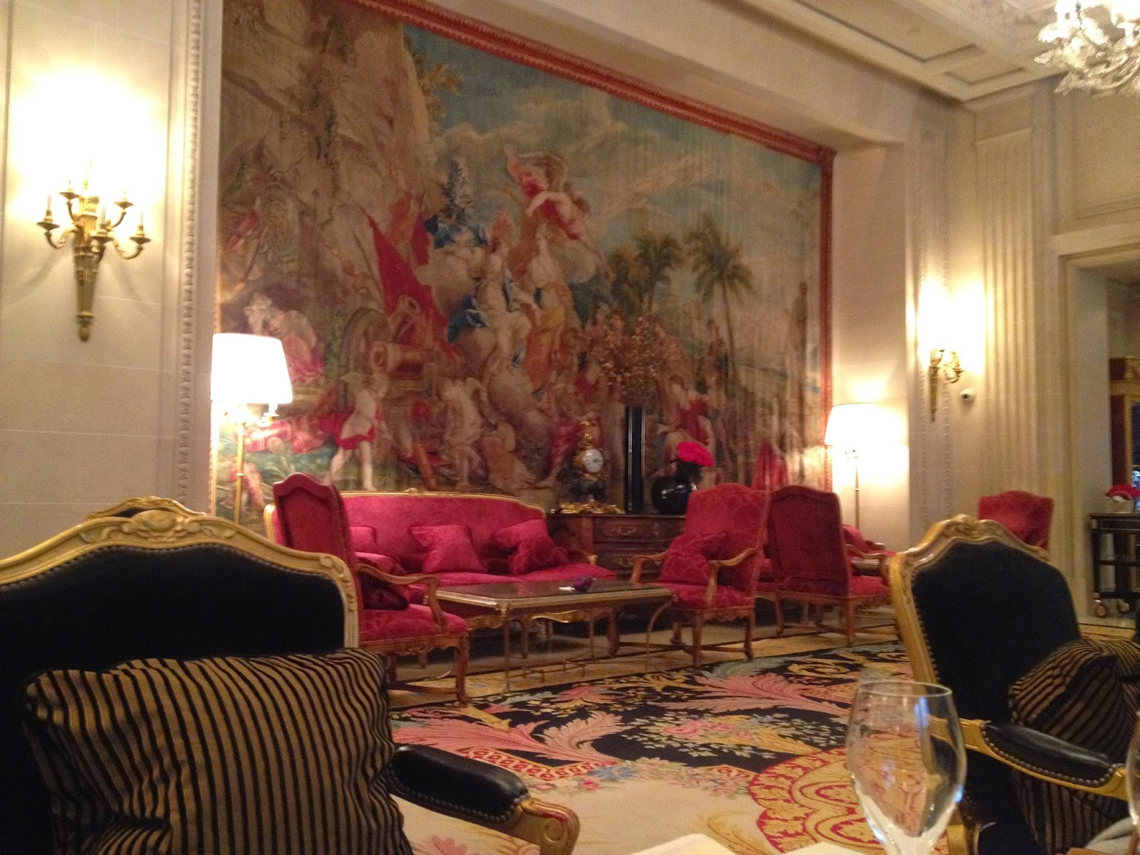 La Galerie, Four Seasons Hotel George V, Paris