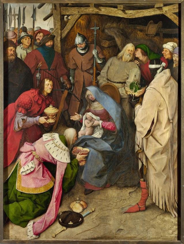 Pieter Bruegel the Elder - The Adoration of the Kings