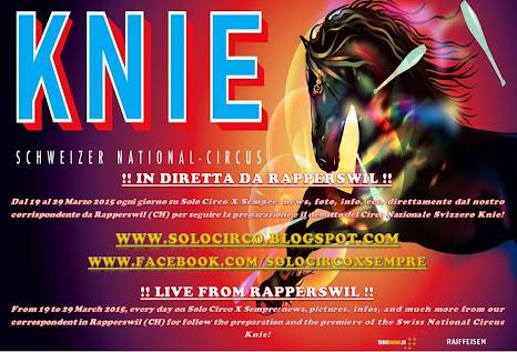 IN DIRETTA DA RAPPERSWIL // LIVE FROM RAPPERSWIL
