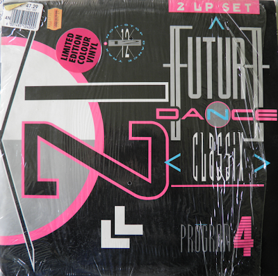 Future Dance Classix Program 4 (1991) non-stop dance trax 2LP Set Electro Hi-NRG Eurobeat Italo New Beat House Rap 90\'s \