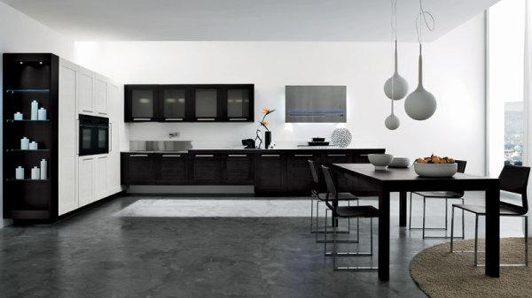 Mi casa mi hogar cocinas modernas en blanco y negro - Cocinas modernas precios ...