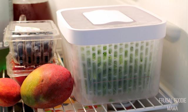 Keep your fresh produce fresher longer with an OXO GreenSaver Produce Keeper. #OXOFarmTour