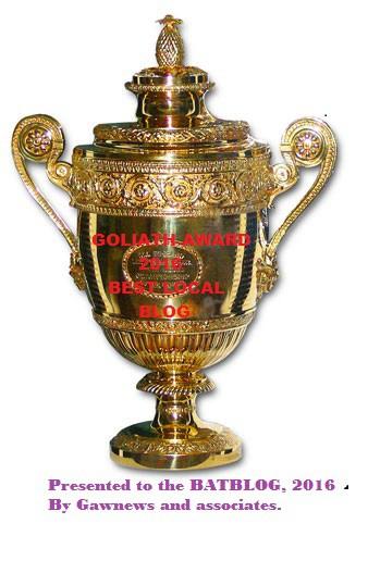 2016 Goliath Award