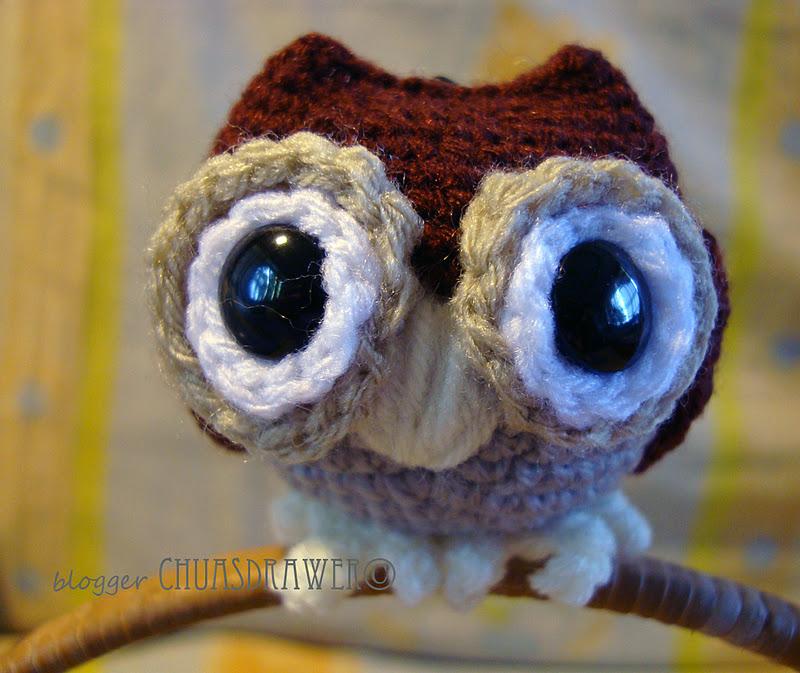 Chuas Drawer: AMIGURUMI OWL