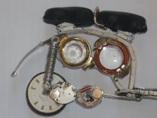 Roda Traseira Motocross Miniatura