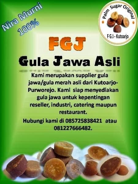 Gendis Jawi Asli KING PALM FGJ