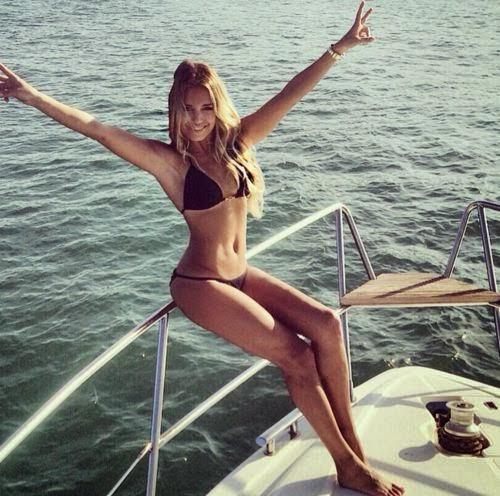 Bikini Beauty: So beautiful looks Sylvie Meis | Greetings from vacation