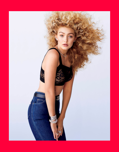 Gigi Hadid by Sebastian Faena for V88