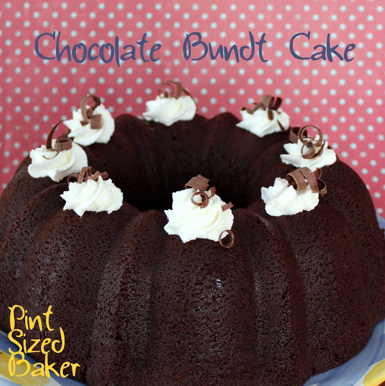 Pint Sized Baker: Chocolate Sour Cream Bundt Cake