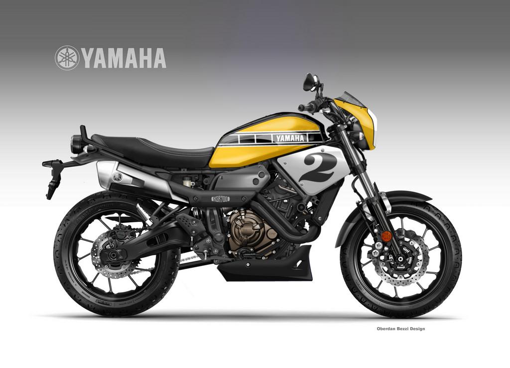 racing caf design corner yamaha xsr 700 coolest. Black Bedroom Furniture Sets. Home Design Ideas