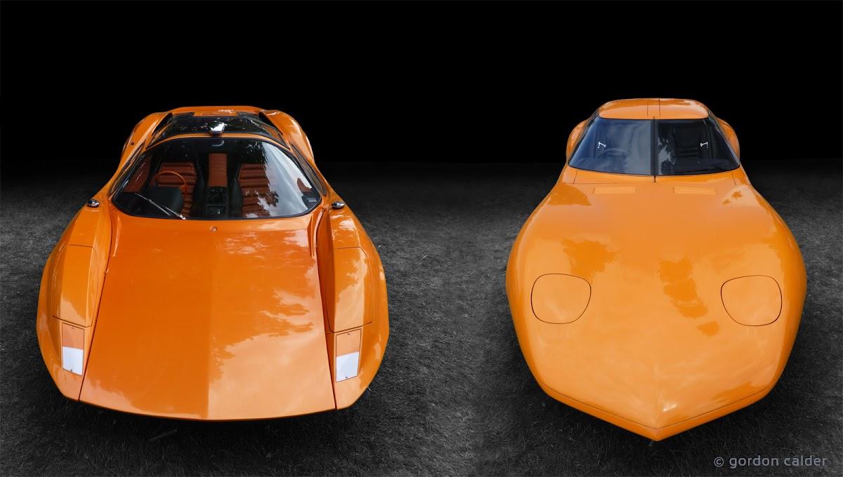 1969 adams probe 16 and 1966 vauxhall xvr concept cars | photo by gordon calder