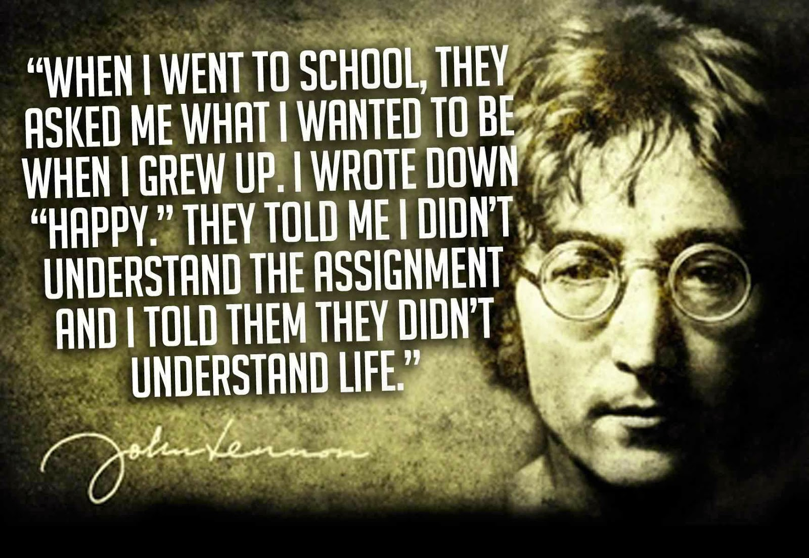John Lennon Quotes Life Is What Happens